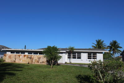 West Palm Beach Single Family Home For Sale: 183 Sandpiper Avenue