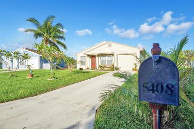 Boynton Beach Single Family Home For Sale: 5408 Courtney Circle