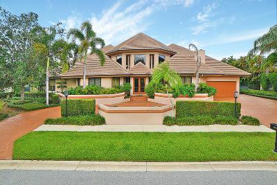 Boca Raton Single Family Home For Sale: 7555 Mandarin Drive