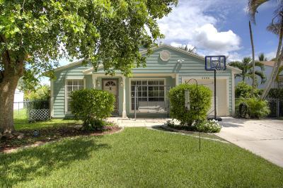 Boynton Beach Single Family Home For Sale: 5436 Courtney Circle