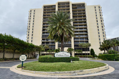 Dalton Place Condo Condo For Sale: 4748 S Ocean Boulevard #9a