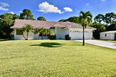 West Palm Beach Single Family Home For Sale: 12364 85th Road