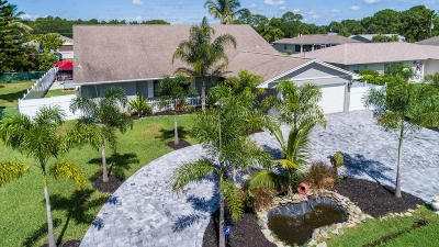 Port Saint Lucie Single Family Home For Sale: 1156 SW Hutchins Street