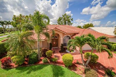 Boca Raton Single Family Home For Sale: 12346 Baywind Court