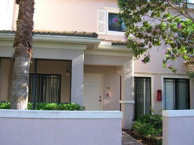 Palm Beach Gardens Townhouse For Sale: 2804 Sarento Place #113