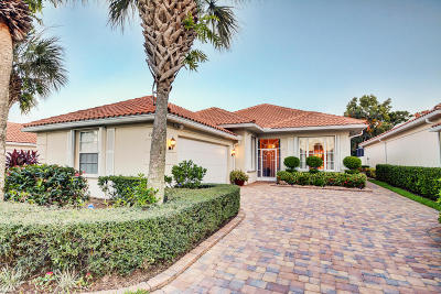 Hobe Sound Single Family Home For Sale: 7953 SE Double Tree Drive