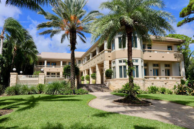 Palm Beach Gardens FL Single Family Home For Sale: $5,900,000