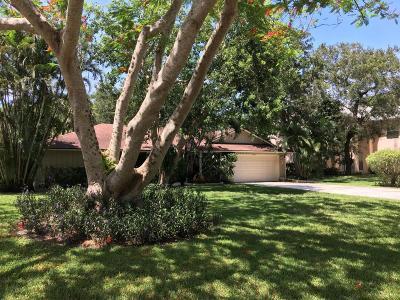 Palm Beach Gardens Single Family Home For Sale: 2565 Prosperity Oaks Court