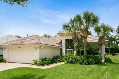 West Palm Beach Single Family Home For Sale: 2444 Sailfish Cove Drive