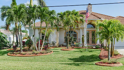 Port Saint Lucie Single Family Home For Sale: 589 SE Calmoso Drive