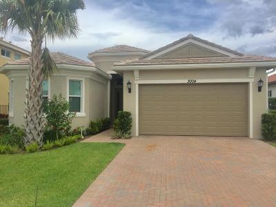 Royal Palm Beach Single Family Home For Sale: 3004 Strada Court