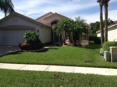 Boynton Beach Single Family Home For Sale: 7549 Citronella Street