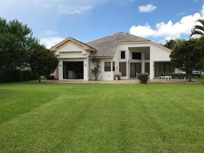 Lake Worth Single Family Home For Sale: 6394 Rock Creek Drive
