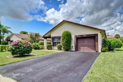 Boca Raton Single Family Home For Sale: 8911 Old Pine Road