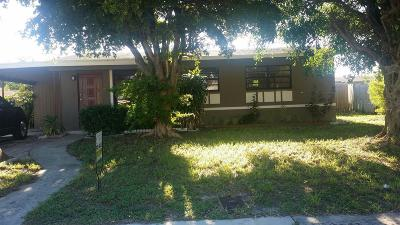 Boynton Beach Single Family Home For Sale: 1480 NW 1st Street