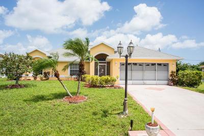 Port Saint Lucie, Saint Lucie West Single Family Home For Sale: 4424 NW Alsace Avenue