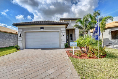 Boynton Beach Single Family Home For Sale: 12552 Copper Mountain Pass