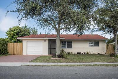 Boynton Beach Single Family Home For Sale: 802 NW 7th Court #802