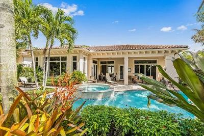 Palm Beach Gardens FL Single Family Home For Sale: $1,595,000