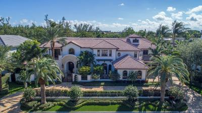 Boca Raton Single Family Home For Sale: 166 W Alexander Palm Road