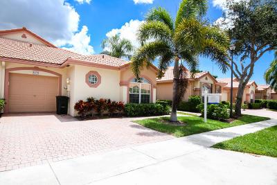 Boca Raton Single Family Home For Sale: 8476 Via Serena