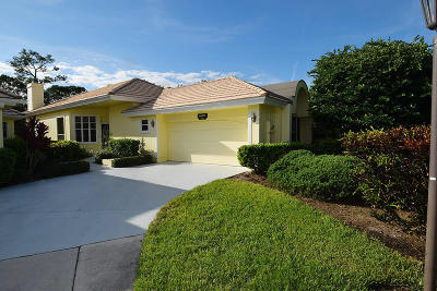 Palm City Single Family Home Contingent: 2243 NW Seagrass Drive