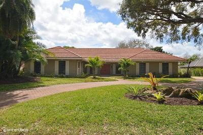 Stuart Single Family Home For Sale: 5290 SE Burning Tree Circle
