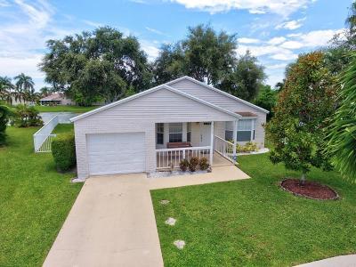 Boynton Beach Single Family Home For Sale: 9172 Beverly Court