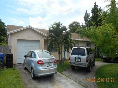 Fort Lauderdale FL Single Family Home For Sale: $244,900