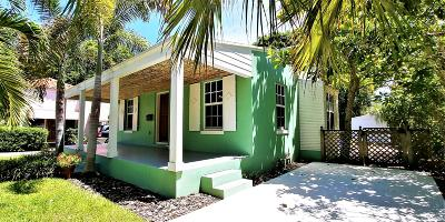 West Palm Beach Single Family Home For Sale: 520 Ardmore Road
