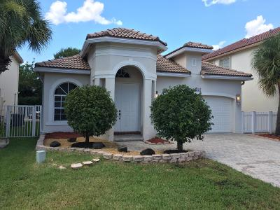 Lake Worth Single Family Home For Sale: 6925 Spider Lily Lane