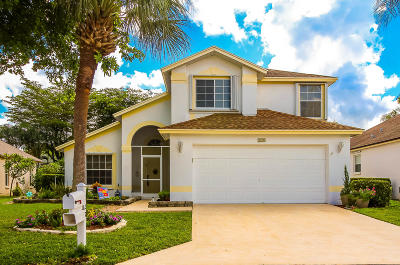 Greenacres Single Family Home For Sale: 229 Trails End