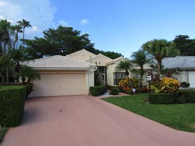 Boynton Beach Single Family Home For Sale: 4741 Catamaran Circle