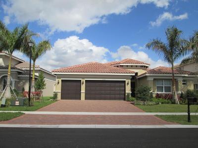 Boynton Beach Rental For Rent: 8195 Mariano Falls Lane SW