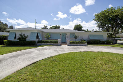 West Palm Beach Single Family Home For Sale: 7105 Washington Road