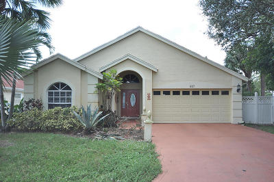 Wellington FL Single Family Home For Sale: $329,990