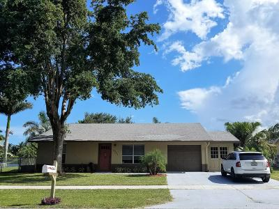 Lake Worth Single Family Home For Sale: 4562 Vespasian Court