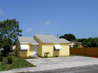 Lake Worth Multi Family Home For Sale: 910 J Street