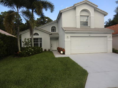 Palm Beach Gardens FL Single Family Home For Sale: $429,900
