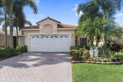 Boynton Beach Single Family Home For Sale: 7720 Cherry Blossom Way