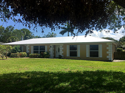 Stuart Single Family Home For Sale: 1674 NW Spruce Ridge Drive