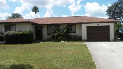 Port Saint Lucie Single Family Home For Sale: 1938 W Dunbrooke Circle