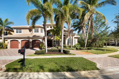 Boynton Beach Single Family Home For Sale: 11861 Windmill Lake Drive