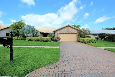 Boca Raton FL Single Family Home For Sale: $475,000