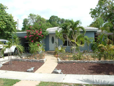 West Palm Beach Single Family Home For Sale: 521 37th Street
