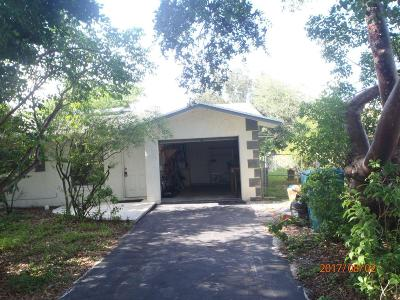 Boynton Beach Single Family Home For Sale: 619 SW 2nd Avenue
