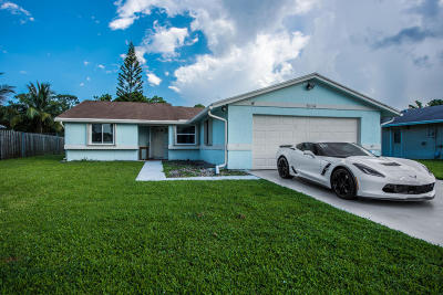 Boynton Beach Single Family Home For Sale: 5114 Mark Drive