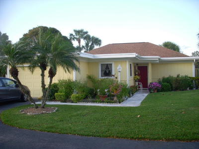 Palm Beach Gardens Single Family Home For Sale: 6336 Whispering Lakes Lane