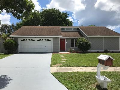 Boynton Beach Single Family Home For Sale: 9388 Longmeadow Circle