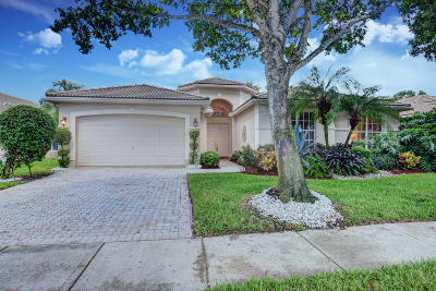 Boynton Beach Single Family Home For Sale: 11727 Caracas Boulevard